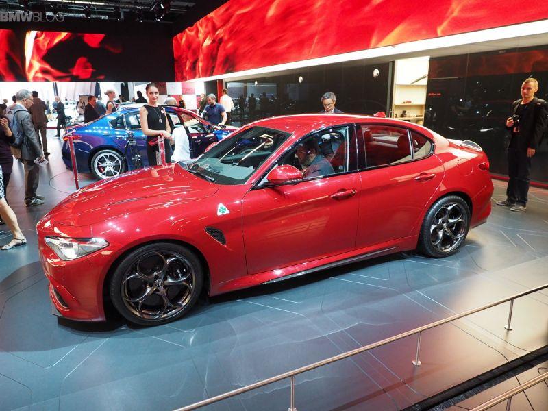 Alfa Romeo Giulia Quadrifoglio Verde на Frankfurt Auto Show - 2015