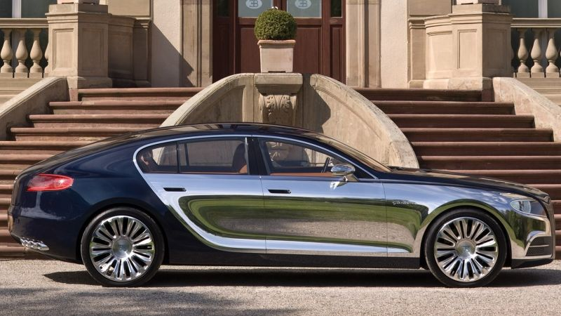 Концепт Bugatti Galibier, скорее всего, станет четырехдверным преемником Сhiron