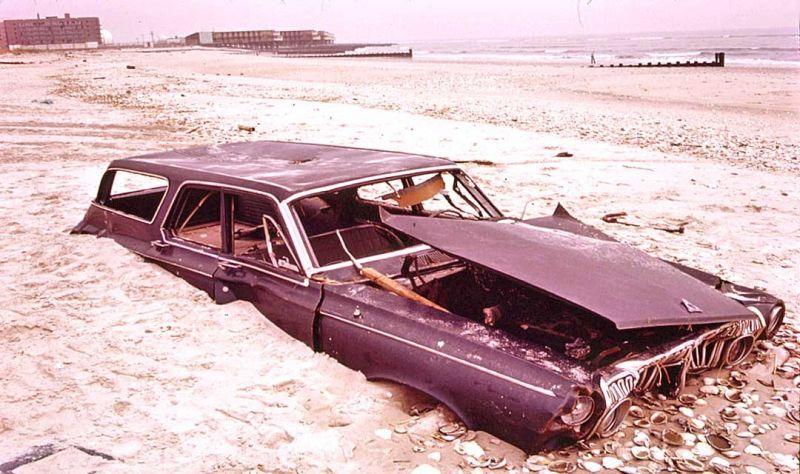 Project Documerica: очищение США от автомобильных останков