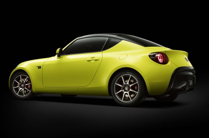 Новая Toyota S-FR - концепт спорткара начального уровня