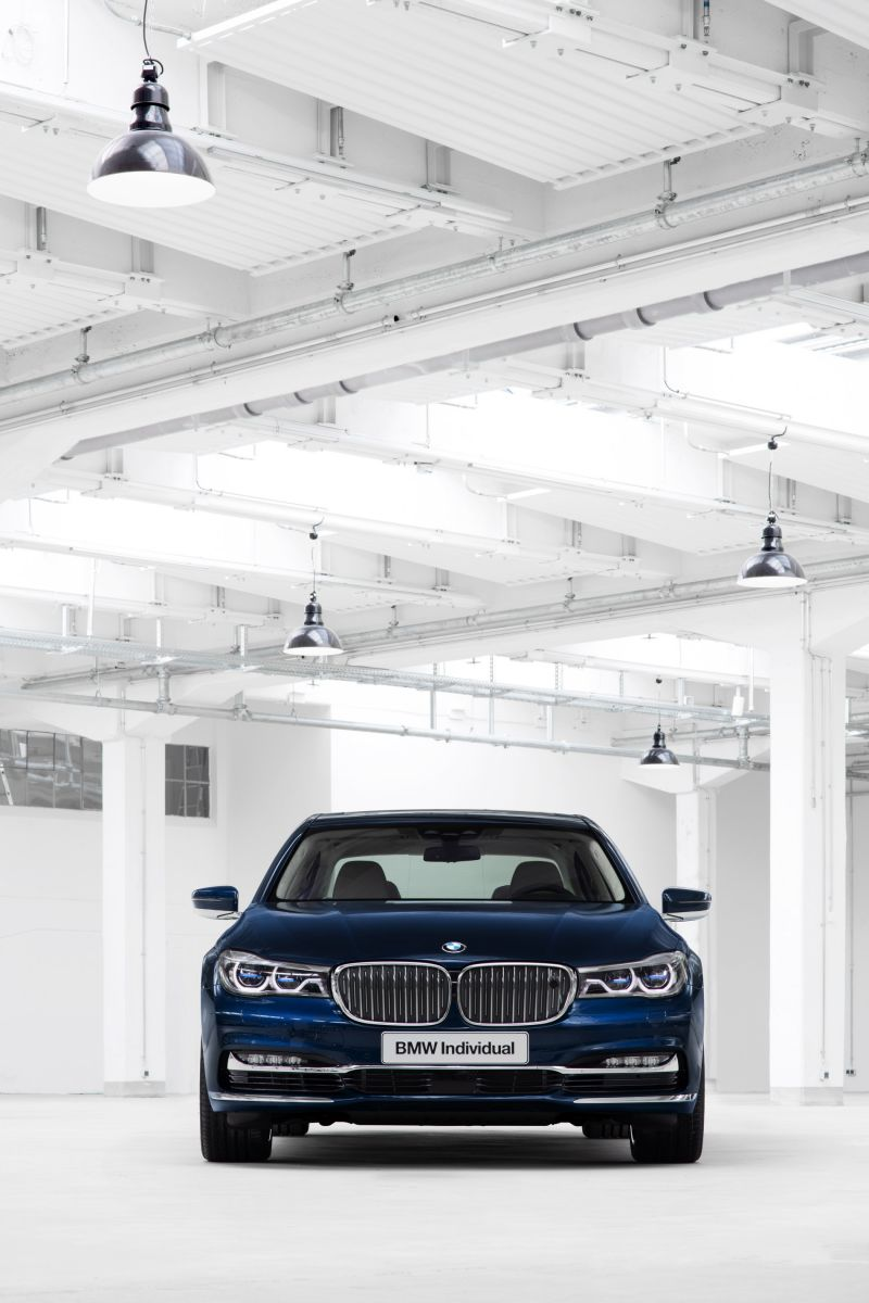 Сотня BMW Individual 7 Series THE NEXT 100 YEARS