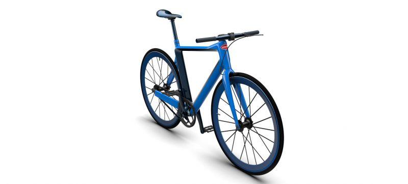 Велосипед от Бугатти для покупателей Bugatti Chiron