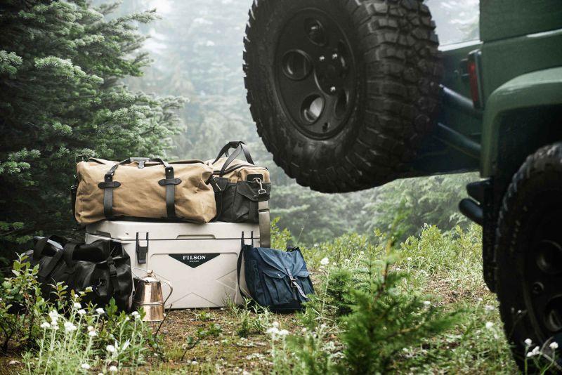 Jeep, на котором можно проехать немного дальше: 2014 AEV Wrangler Filson Edition