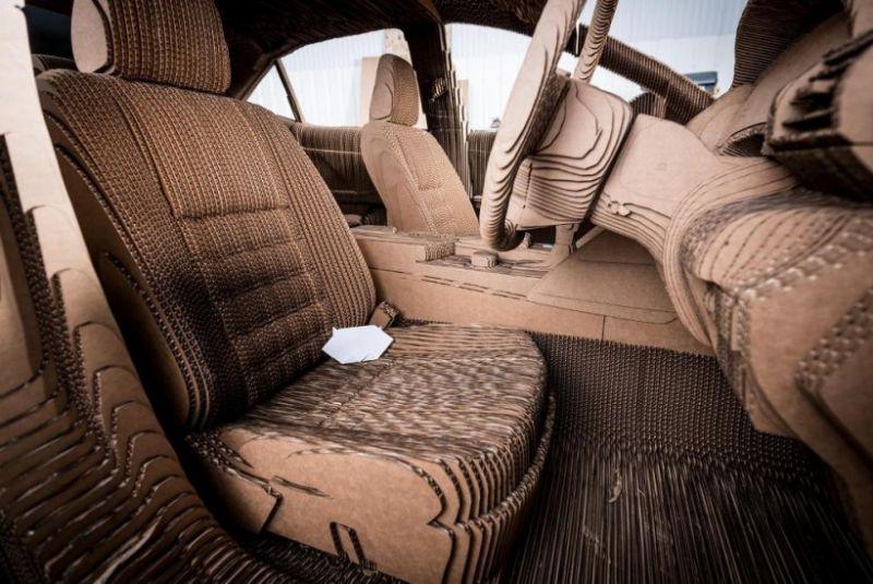 Картонный Lexus - это вам не картонный унитаз!