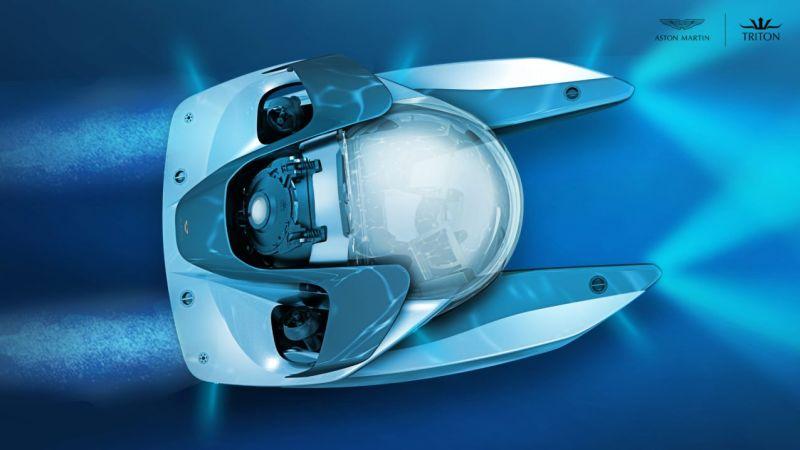 Aston Martin Project Neptune: подлодка от Астон Мартин