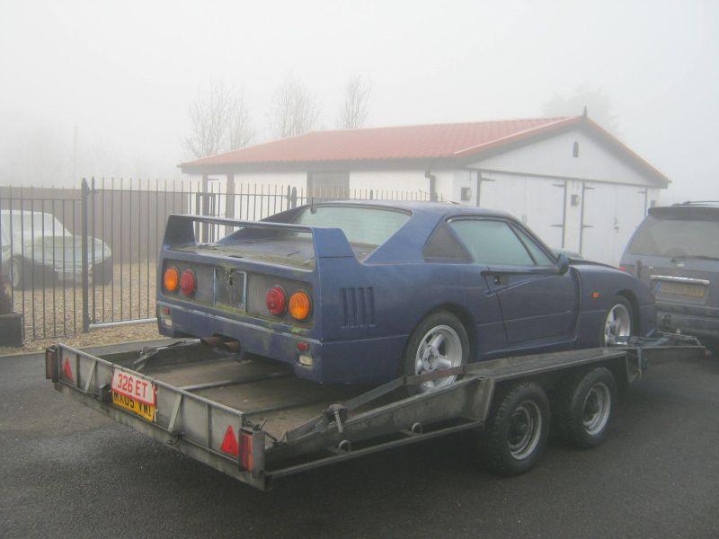 Продается Ferrari F40. Правда, не совсем феррари...