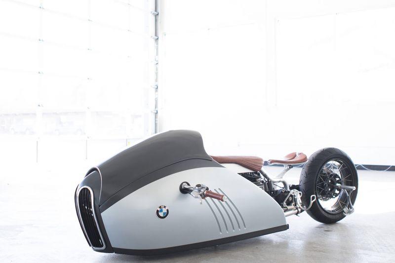 BMW ALPHA Bullet Bike - мото-кастом с изюминкой