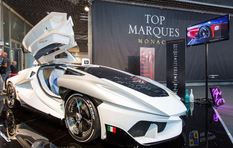 Frangivento Charlotte Roadster - супердорогой суперкар с супераквариумом