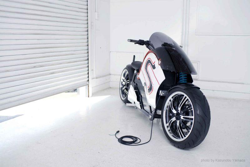 zecOO concept: крутейший электромотоцикл от японцев