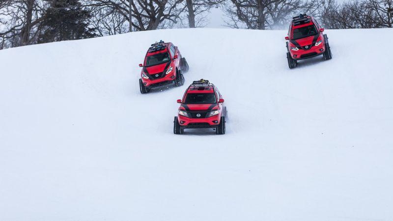 Зимние концепты от Nissan: Pathfinder, Murano и Rogue на