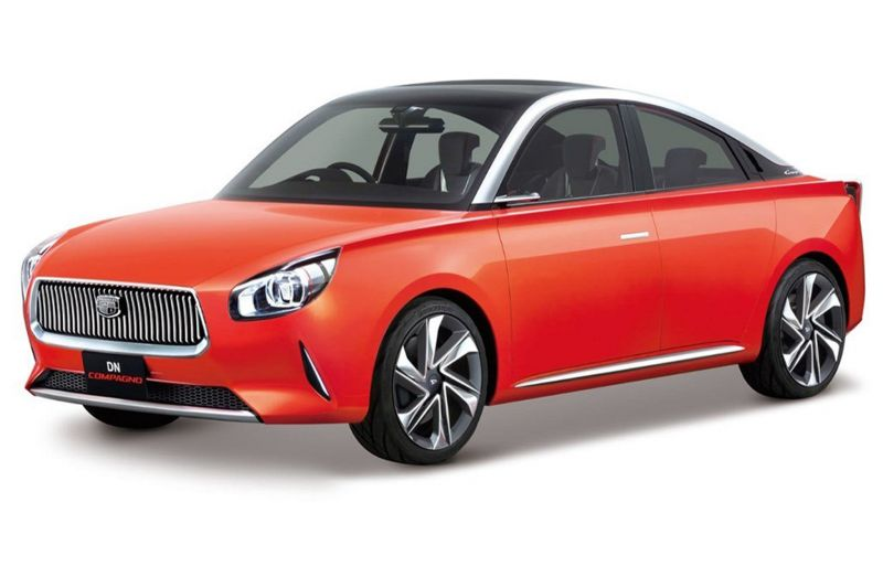 Няшный концепт от Daihatsu: DN Compagno