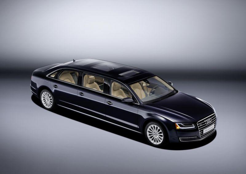 Audi A8 XXL Extended в единственном экземпляре