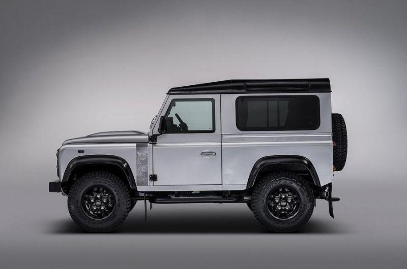 Специальная версия двухмиллионного Land Rover Defender будет показана на Goodwood Festival of Speed