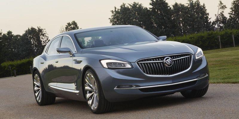 Buick Avenir concept: давненько Бьюик нас не радовал