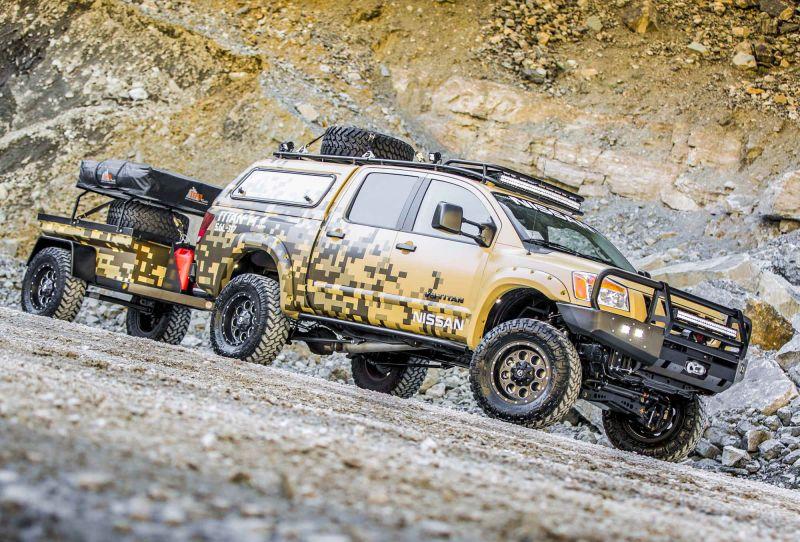 Nissan Titan для покорения Аляски