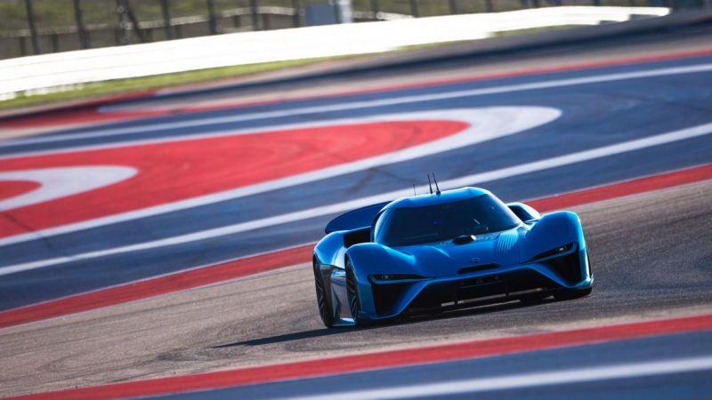 NIO EP9, самый быстрый электромобиль в мире, установил пару рекордов
