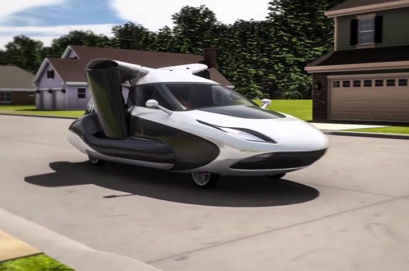 К вопросу о летающих авто: Terrafugia TF-X