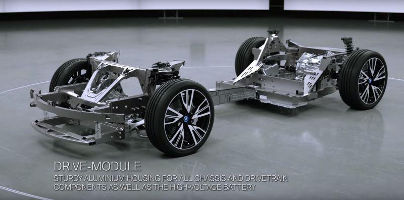 Видео, поясняющее интересующимся, за счет чего едет BMW i8