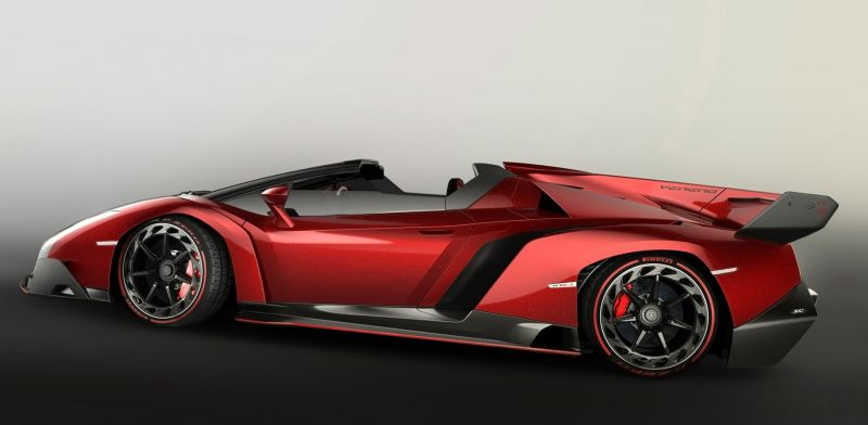 Lamborghini Veneno Roadster 2014 года