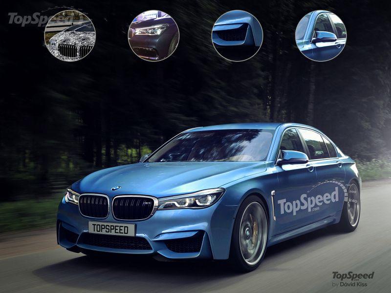 BMW готовит BMW M7 к выходу в 2016 году