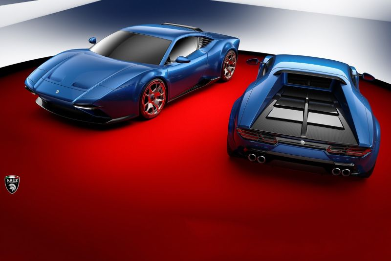 ARES Design Project Panther: обновленная De Tomaso Pantera