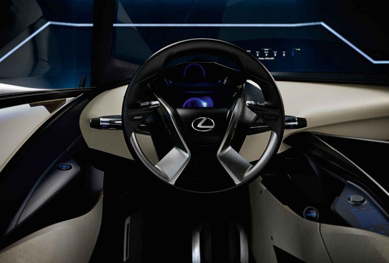 Мелкая новинка от Lexus: Lexus LF-SA!