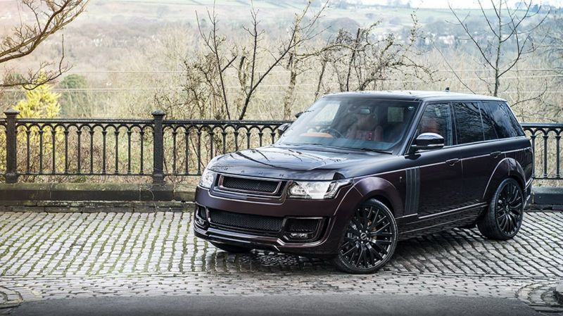 Project Kahn Black Kirsch Over Madeira Red Range Rover RS Pace Car - новый рейндж от Кана