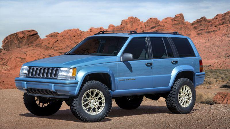 Привет из 90-х: концепт Jeep Grand One на основе Grand Cherokee