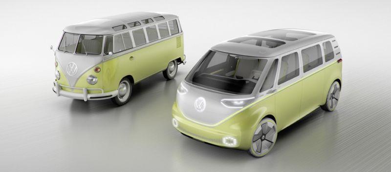 Volkswagen I.D. Buzz: электронаследник того самого VW Type 2