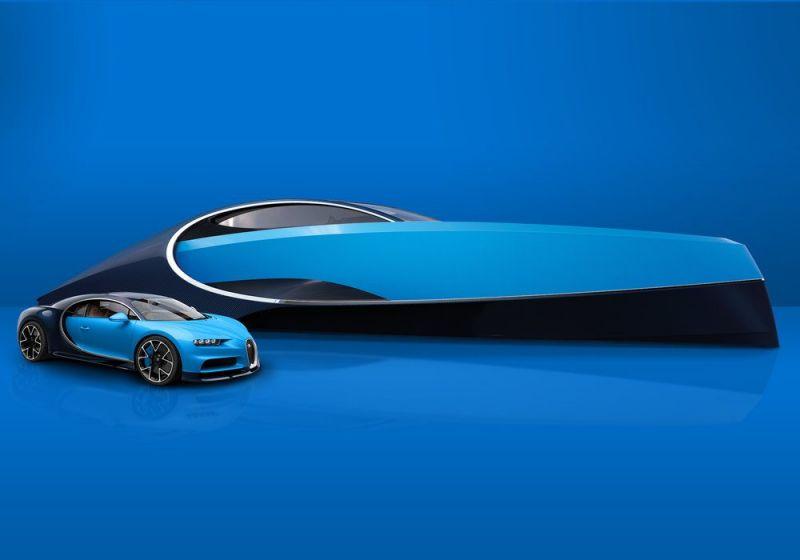 Bugatti Niniette 66 - яхта, вдохновленная Широном