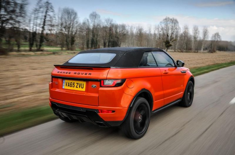 Range Rover Evoque Convertible 2.0: первый luxury-SUV - кабриолет?