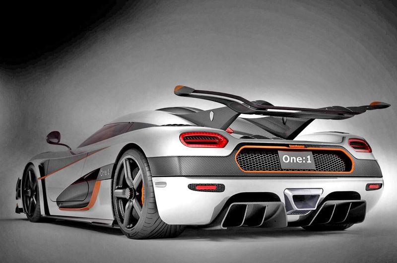 Гиперкар-рекордсмен: Koenigsegg One:1