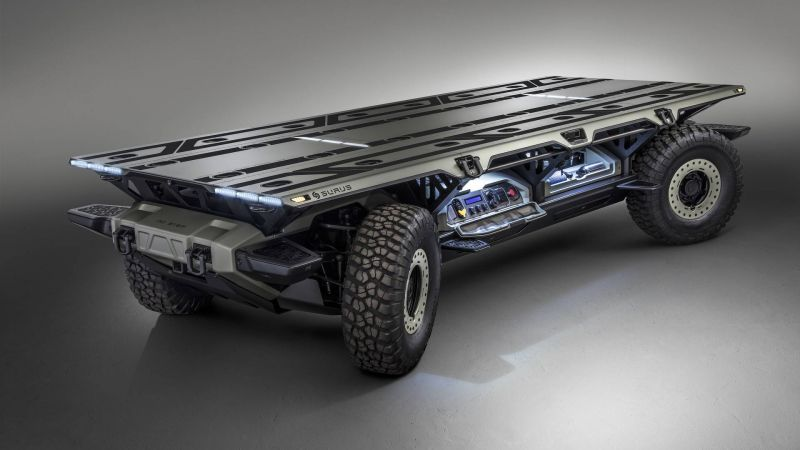Концепт Silent Utility Rover Universal Superstructure от GM