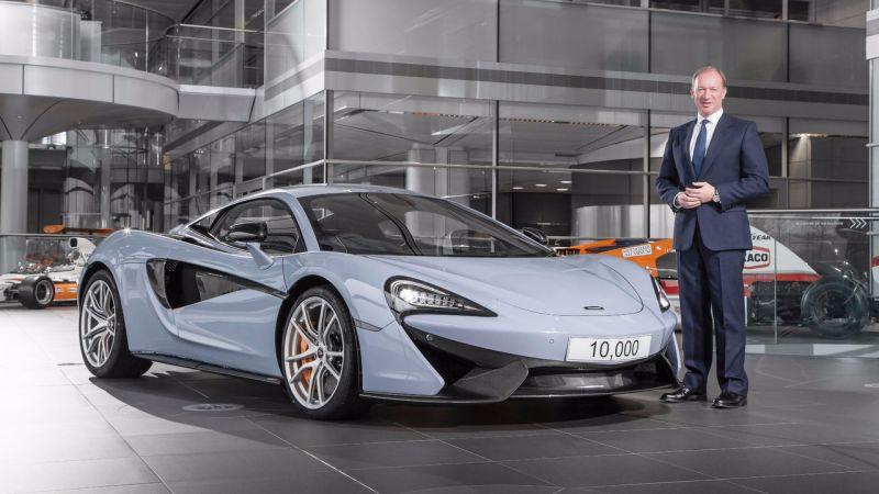 Вот и 10.000-й McLaren подъехал!