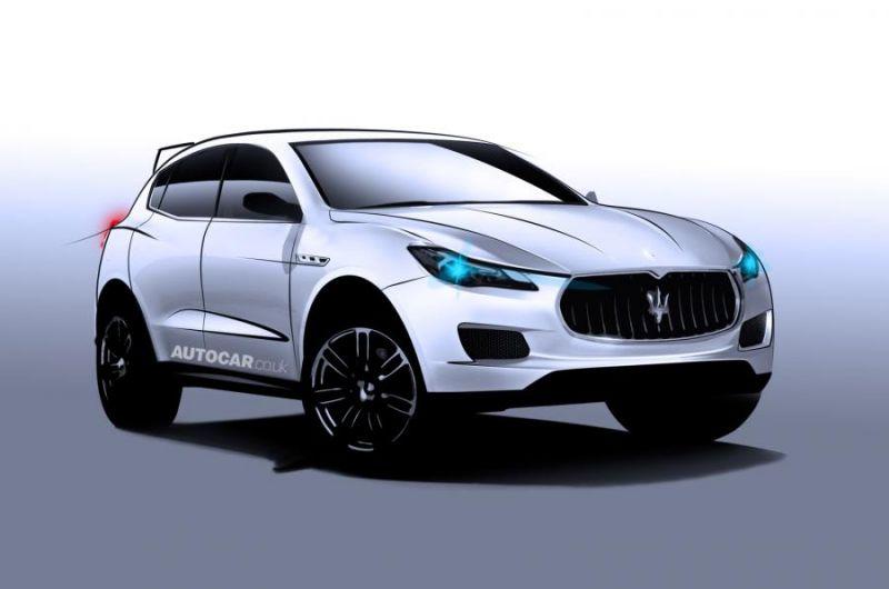 Мазерати тоже хочет свой SUV: Maserati Levante