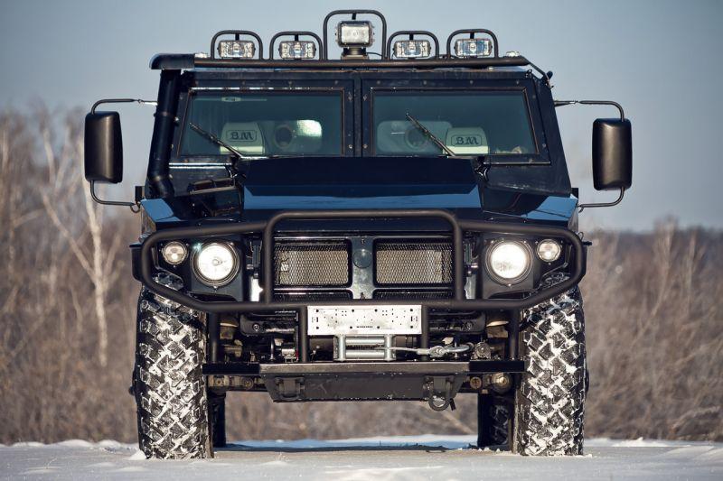Тюнингованная версия ГАЗ-2330 «Тигр» от DDM-Авто