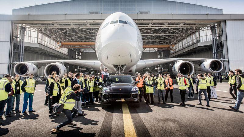 Air France, Porsche Cayenne и новый рекорд в книге Гиннесса