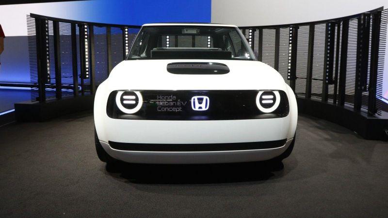 Милота от Хонды: Honda Urban EV concept