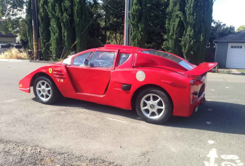 Когда очень хочется владеть Ferrari Enzo...