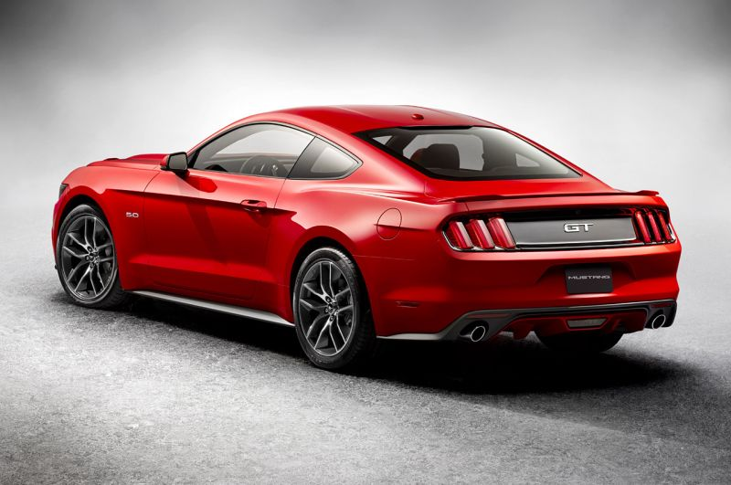 Обновленный Ford Mustang