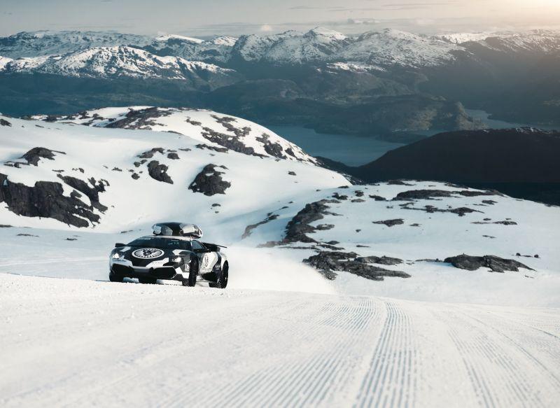 Новое видео от Jon Olsson, снова со снегом и с Lamborghini Murcielago