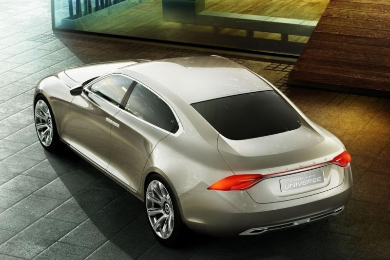 Новый концепт от Вольво - Volvo S90. Новинка придет на смену S80