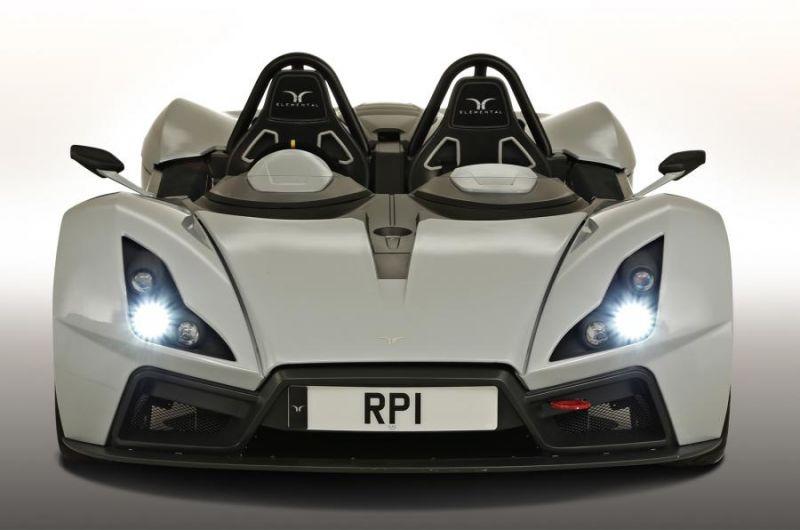 Новый родстер RP1 от Британской компании-стартапа Elemental