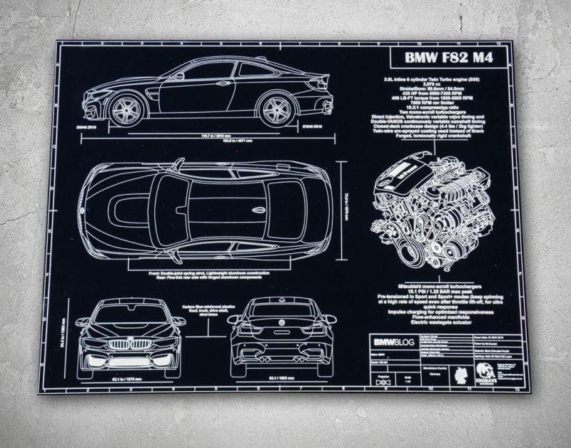 Офигенные автомобильные постеры на алюминии или дереве!