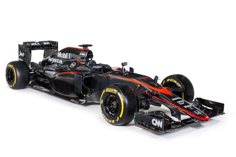 Новая окраска F1 McLaren-Honda для испанского гран-при