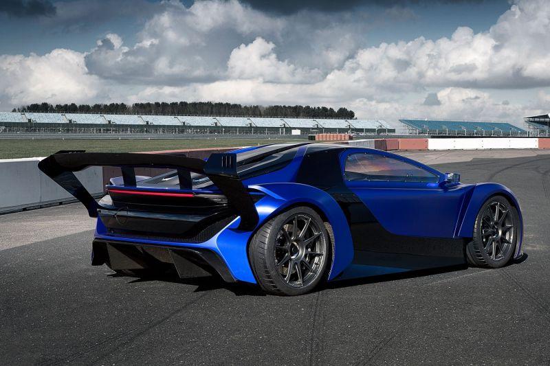 Китайский концепт Techrules GT96 TREV в Женеве