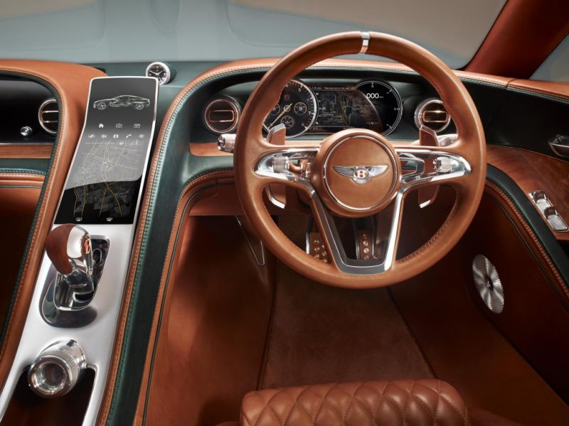 Концепт Bentley Exp 10 Speed 6 выиграл золото на German Design Awards
