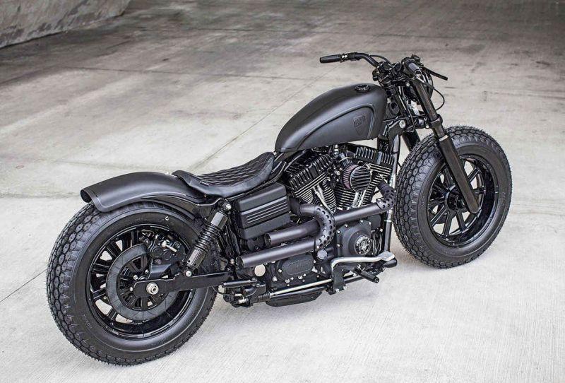 Dyna Guerilla: Harley Davidson Fat Bob от мастерской Rough Crafts