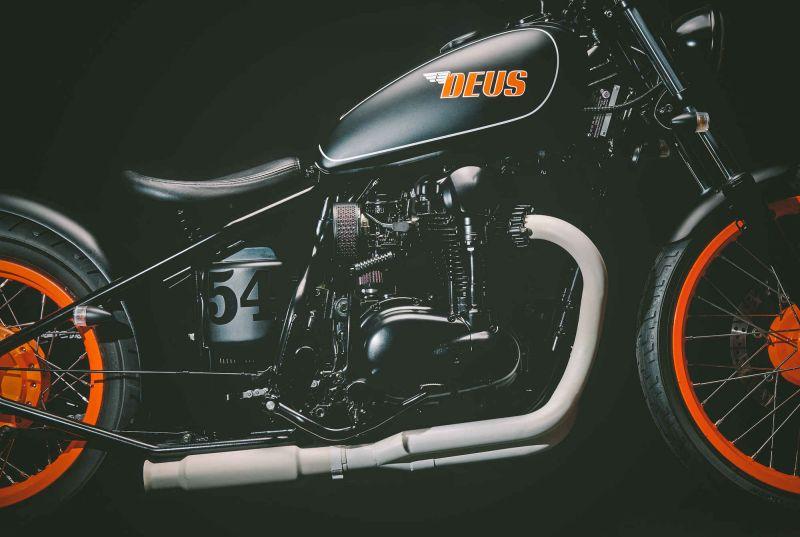 Deus Pegasus: красивый мотоцикл