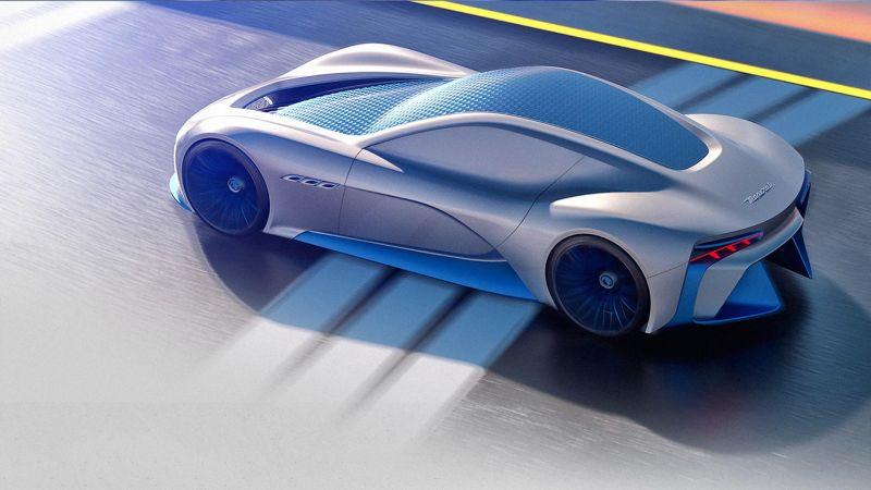 Новый респектный рендер - Maserati Genesi concept